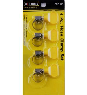 Abrazadera Set 4Pcs 10--16Mm Uyustools-Tw