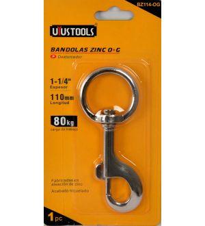 Bandolas Zinc O+G 1-1/4