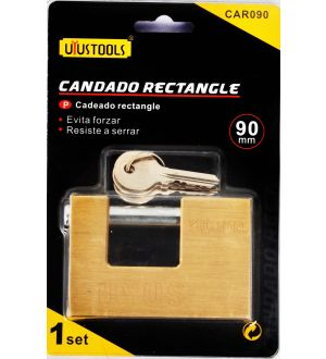Candado Rectangular 90Mm