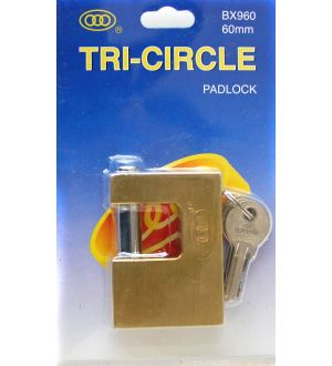 Candado Rectangular Tri-Circle Bx960
