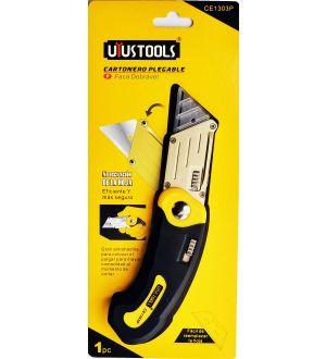 Cuchillo Cartonero Ce1303 Plegable Uyustools