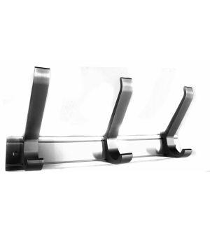 Colgador Aluminio Fija De 3