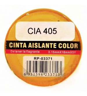 Cinta Aislante Color 0.15Mm X 18Mm X 5Y