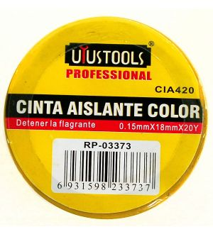 Cinta Aislante Color 0.15Mm X 18Mm X 20Y