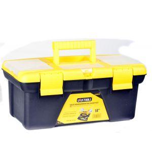 """Caja de Herramientas Plástica 355x182x153mm 14"""" Capacidad 9Kg"""
