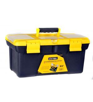 """Caja de Herramientas Plástica 472x250x224mm 19"""" Capacidad 12.5Kg"""