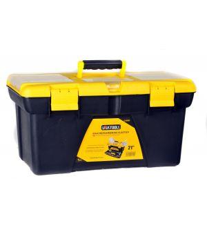 """Caja de Herramientas Plástica 536x292x271mm 21"""" Capacidad 15Kg"""