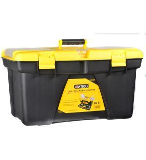 """Caja de Herramientas Plástica 670x393x370mm 26.5"""" Capacidad 20Kg"""