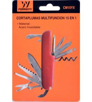 Cortaplumas Multifuncion 15 En 1 Fwyy-Tmx