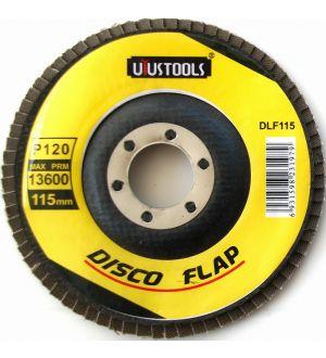 Disco Lija Flap 115X120Mm Uyustools