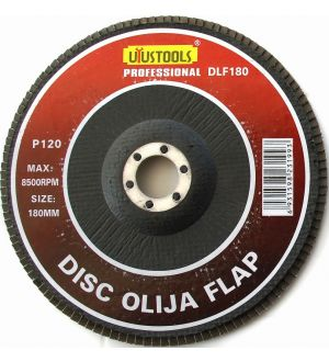 Disco Lija Flap 180X120Mm Uyustools
