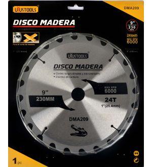 Disco Madera 230 X 24T