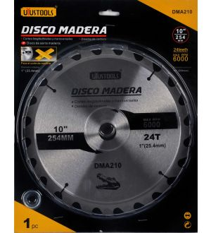 Disco Madera 10 X 24D