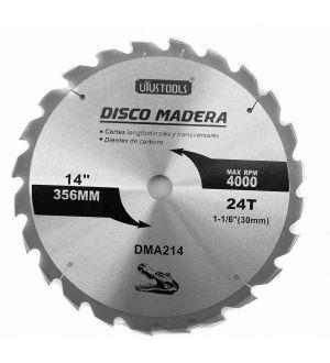 Disco Madera 14 X 24T Uyustools