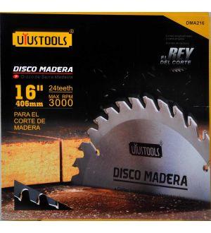 Disco Madera 16 X 24T Uyustools