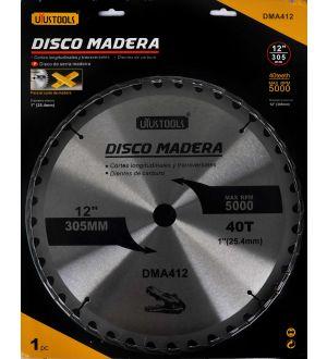 Disco Madera 12 X 40T