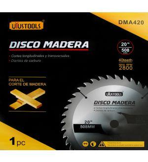 Disco Madera 20 Pulg.  X 40T