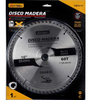 Disco Madera 10 X 60T
