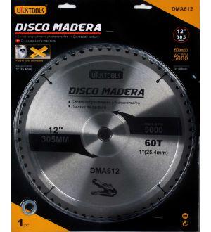 Disco Madera 12 X 60T
