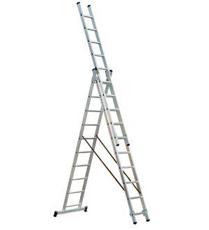 Escalera tipo Tijera con extensión 3X12X7.6M
