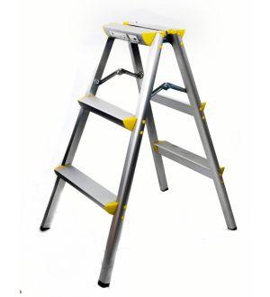 Escalera Aluminio 3Pasos Portable Ferton