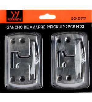Gancho De Amarre P/Pick-Up 2Pcs No33 Fwyy-Tmx