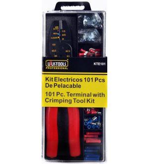 Kit Electricos 101Pcs De Pelacable Uyustools--Tw