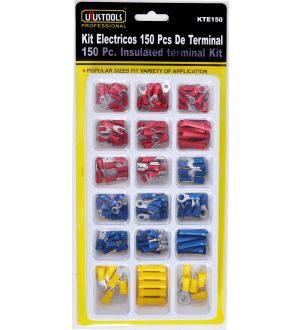 Kit Electricos 150Pcs De Terminal Uyustools--Tw