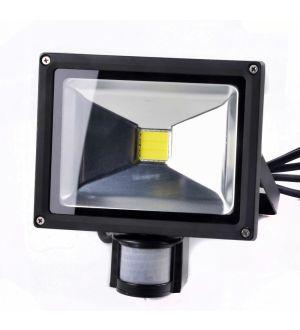 Lampara Led 20W C/Sensor Para Ext. Ferton