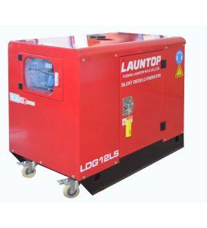 Generador Diesel Elec. Doble Estanque Silencioso 10/11Kw