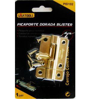 Picaporte Dorada 2 Blister