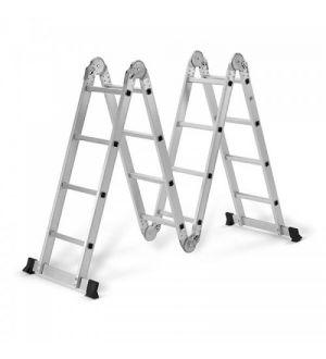 Escalera Multifunción de Aluminio 4x4 Metros