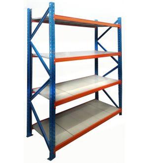 Rack Modular  Altura 210cm ancho 160cm fondo 60 cm, Peso máximo 200 Kg por Bandeja