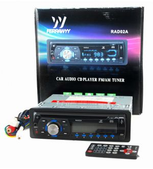 Radio Auto Multifuncion Mp3/Usb/Cd/Ms