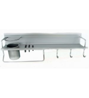 Repisa Cocina Aluminio Multiuso Ja020