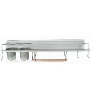 Repisa Cocina Aluminio Multiuso Ja024