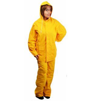 Ropa Agua Amarilla Capa Y Pant Ferrawyy-Tmx