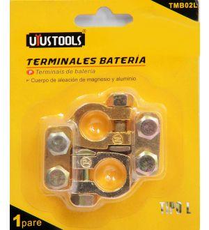 Terminal De Bateria Tipo L 2Pcs Uyustools