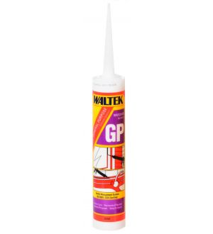 Silicona Tubo Uso General 280Ml Blanco Waltek